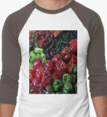 VeggiePlanet 09 Men's Baseball ¾ T-Shirt