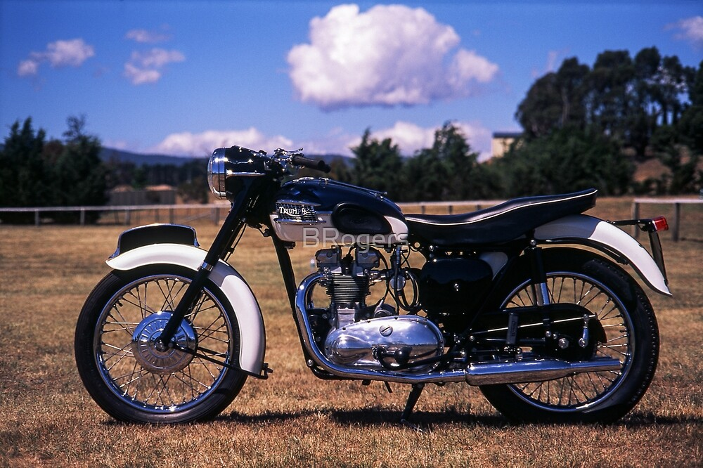 Triumph T100 by BRogers