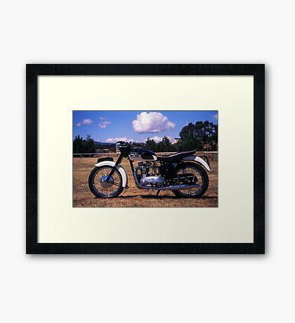 Triumph T100 Framed Print