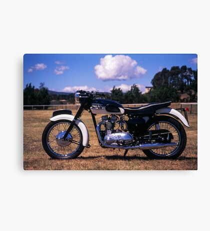 Triumph T100 Canvas Print