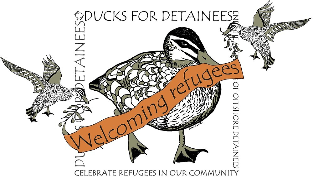 Welcoming Refugees by Fern  Smith