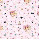 CUPCAKE FAIRY FUN-PINK by Katie Kinnear