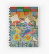 French Sticks le tour de france Spiral Notebook