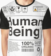 Human Being Science Ingredients tshirts Graphic T-Shirt
