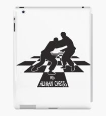 BJJ: Human Chess (BJJ / JIU JITSU / MMA) iPad Case/Skin