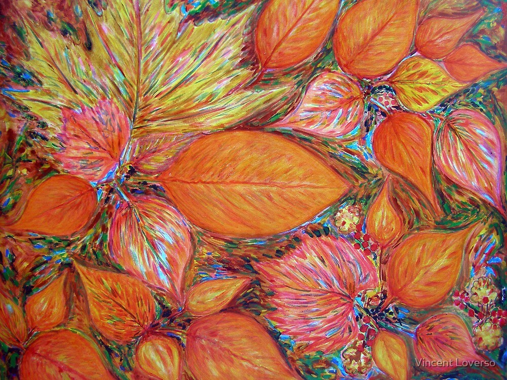 Autumn Leaves by Vincent Loverso