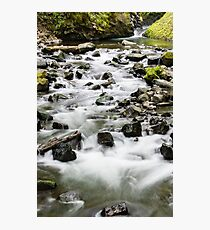 Bridal Veil Outflow  Photographic Print