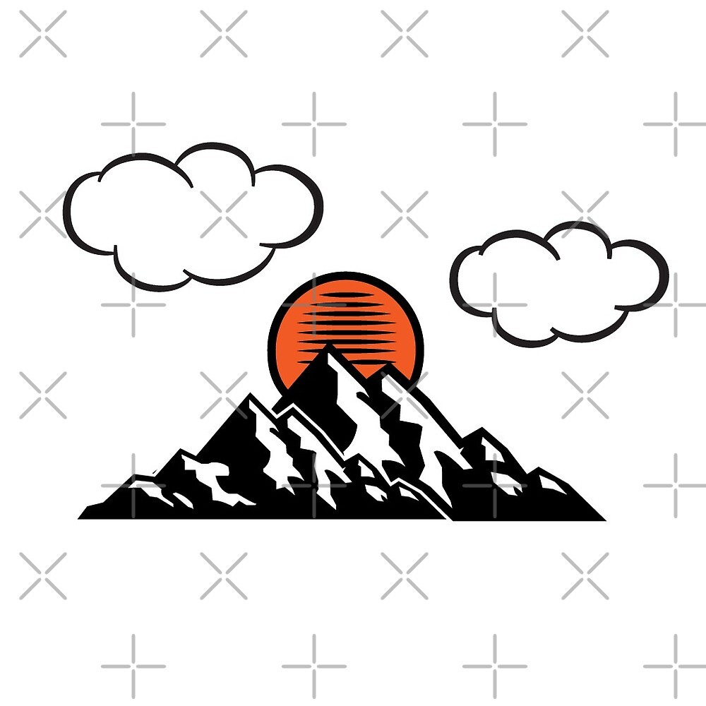 Sunset in the Mountains by Digitaltattoos