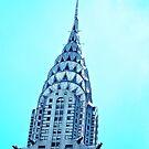 Chrysler Building New York City by Zohar Lindenbaum
