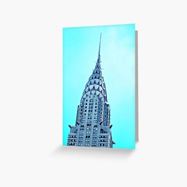 Chrysler Building New York City Greeting Card