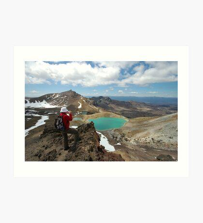 mountaineer Art Print