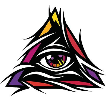 Illuminati Color - Trippy - Simple by kibo