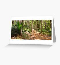 bush track Greeting Card