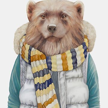 Winter Wolverine (Alternative Color) by AnimalCrew