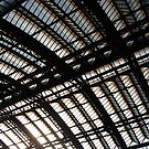 railway station roof  by mtths