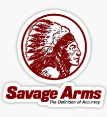 Savage Arms Firearms Sticker