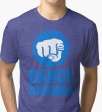 Dance Kizomba - Logo blue Tri-blend T-Shirt