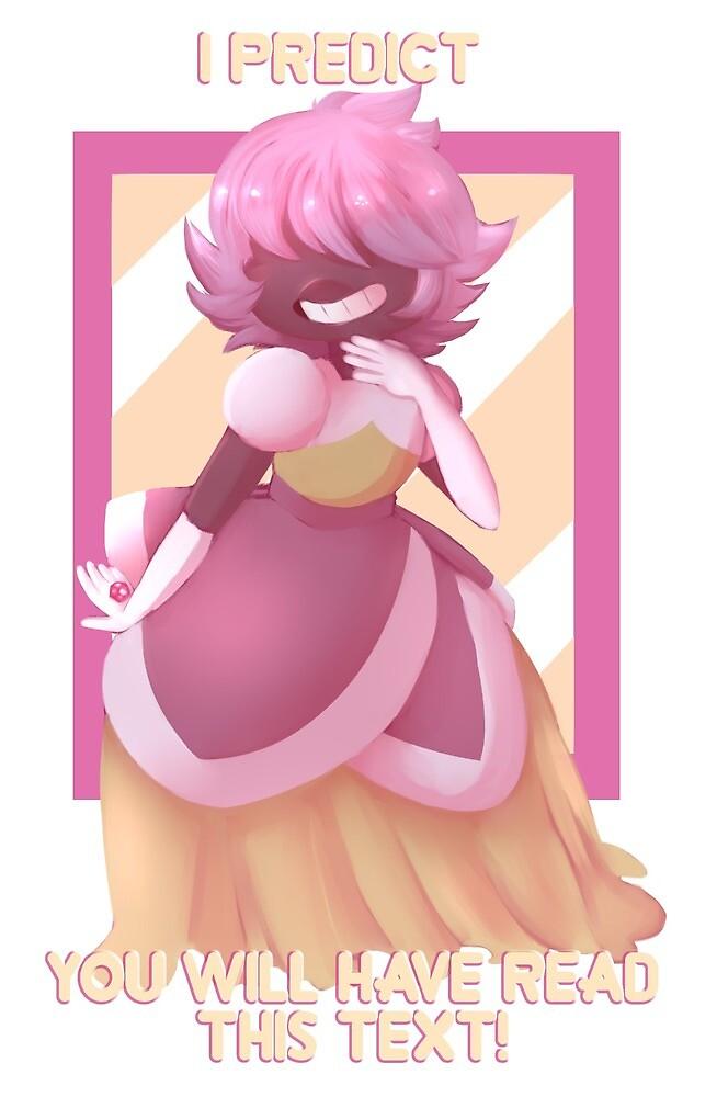 Steven Universe - Padparadscha Sapphire by rubiesriot