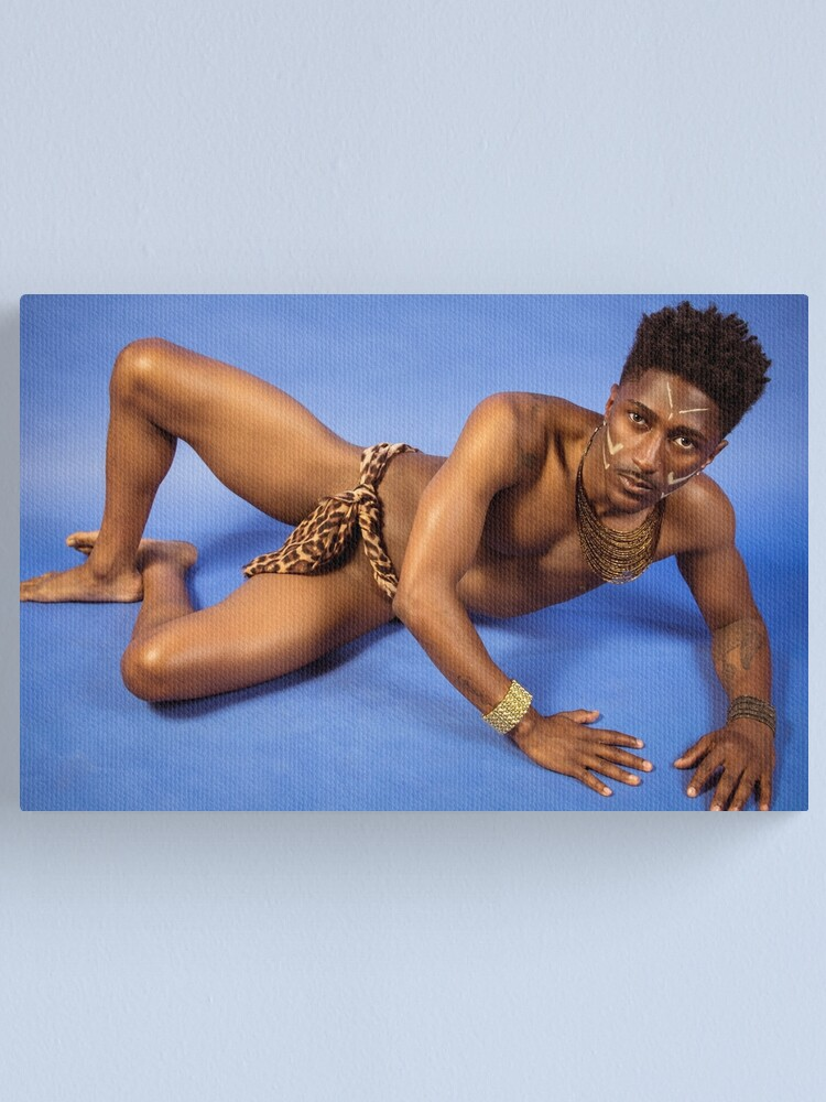 Alternate view of Tribal Glam Canvas Print