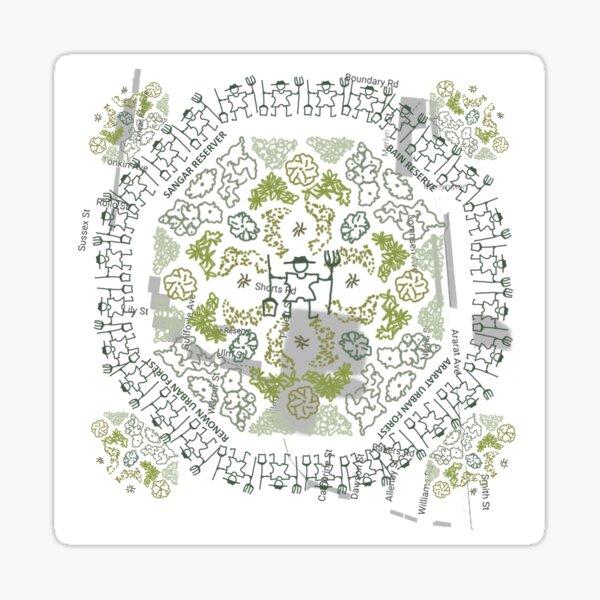 Greening Merlynston Sticker