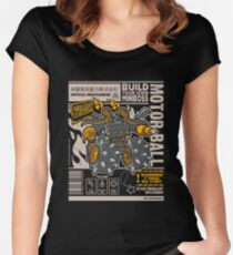 Build Your Boss - Motorball Women's Fitted Scoop T-Shirt