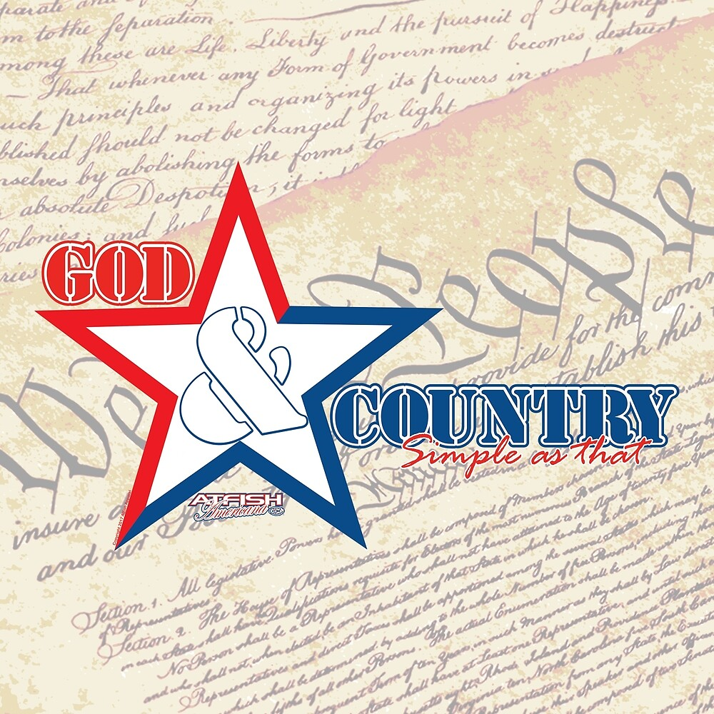 Atfish Americana - God & Country by TheArtistGrimm