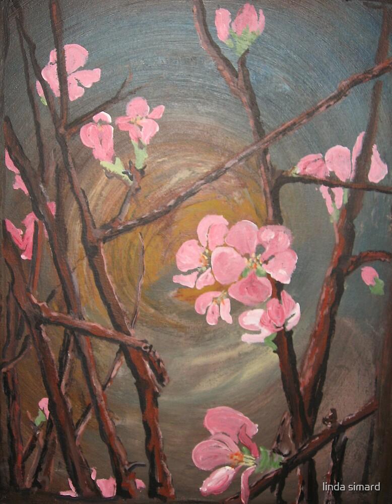 blooming night by linda simard