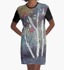 The Dark Forest  Graphic T-Shirt Dress