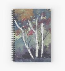 The Dark Forest  Spiral Notebook