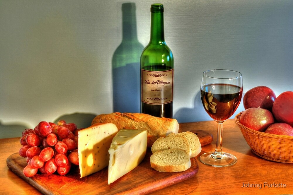 Wine & Cheese by Johnny Furlotte