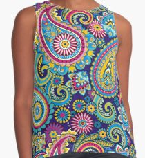 Paisley Contrast Tank