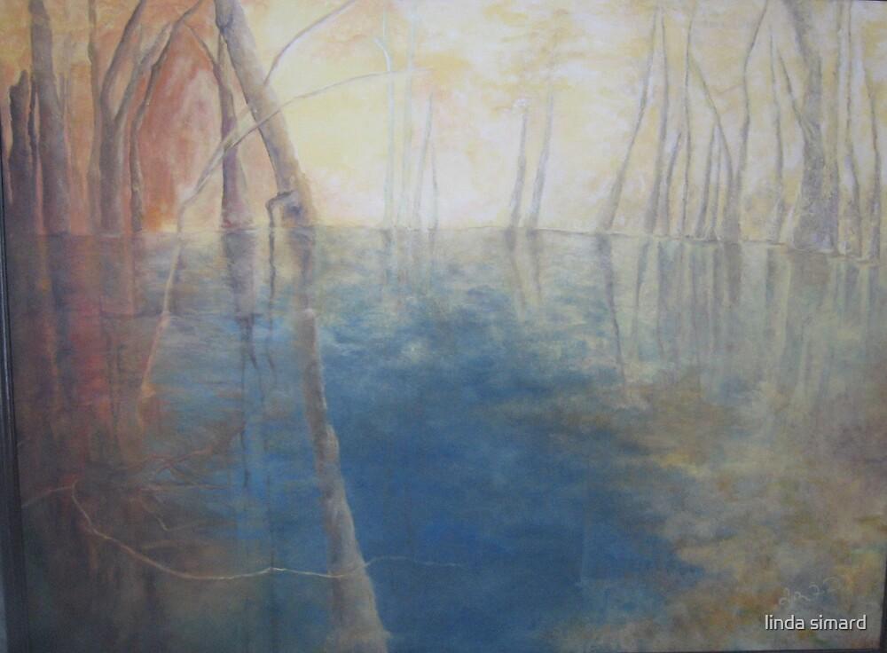 linda's lake  by linda simard