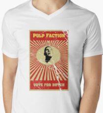 Pulp Faction - Butch Men's V-Neck T-Shirt