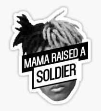 xxxTentacion- Mama Raised a Soldier Sticker