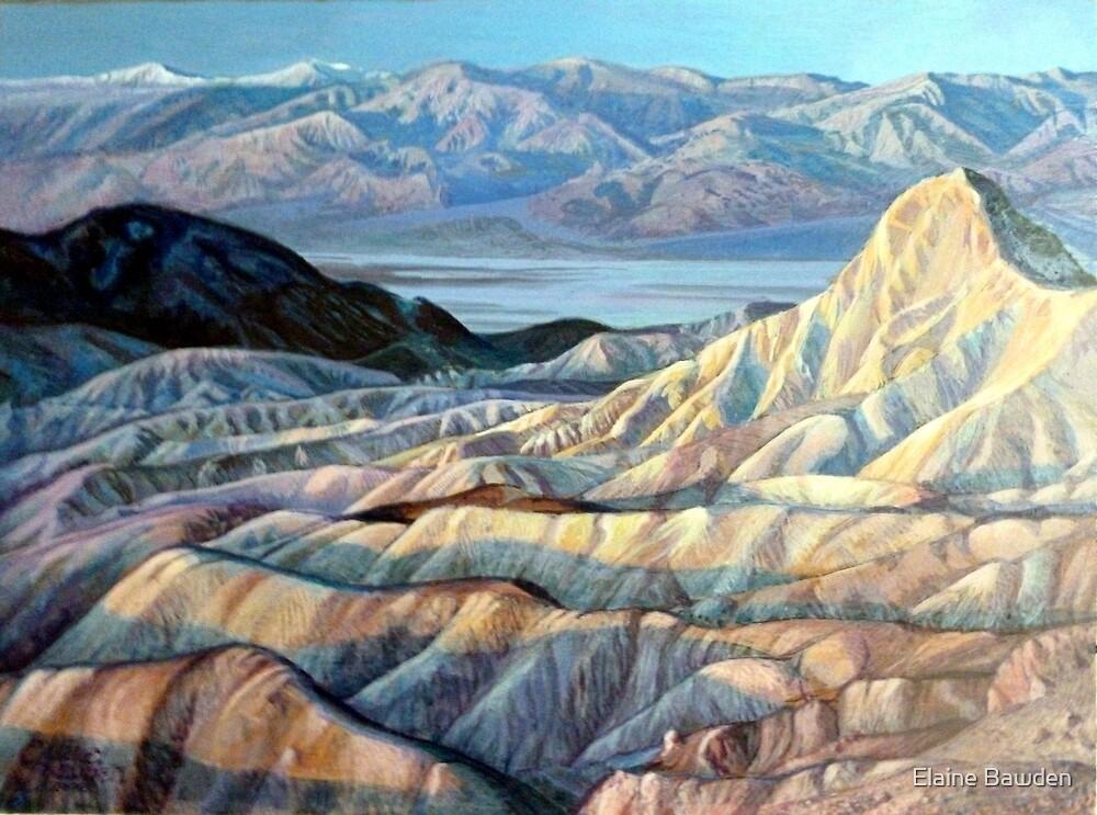 Death Valley California by Elaine Bawden