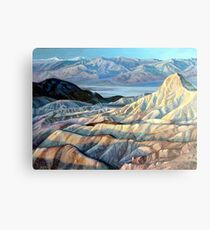Death Valley California Canvas Print