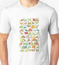 50 Dinos Unisex T-Shirt