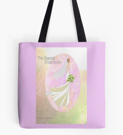 Bride to be  & flowers (5033 views) Tote Bag