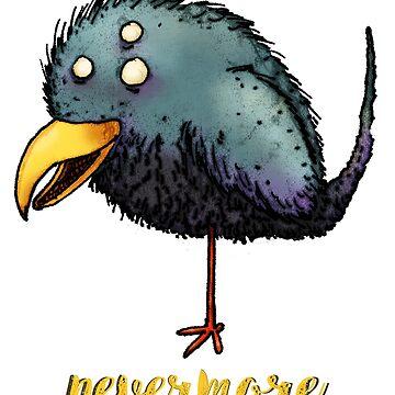 Creepy crow - Nevermore by onibug