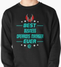 business opearions manager - solve and travel design Pullover