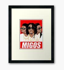 The Cool Boys Migos Framed Print