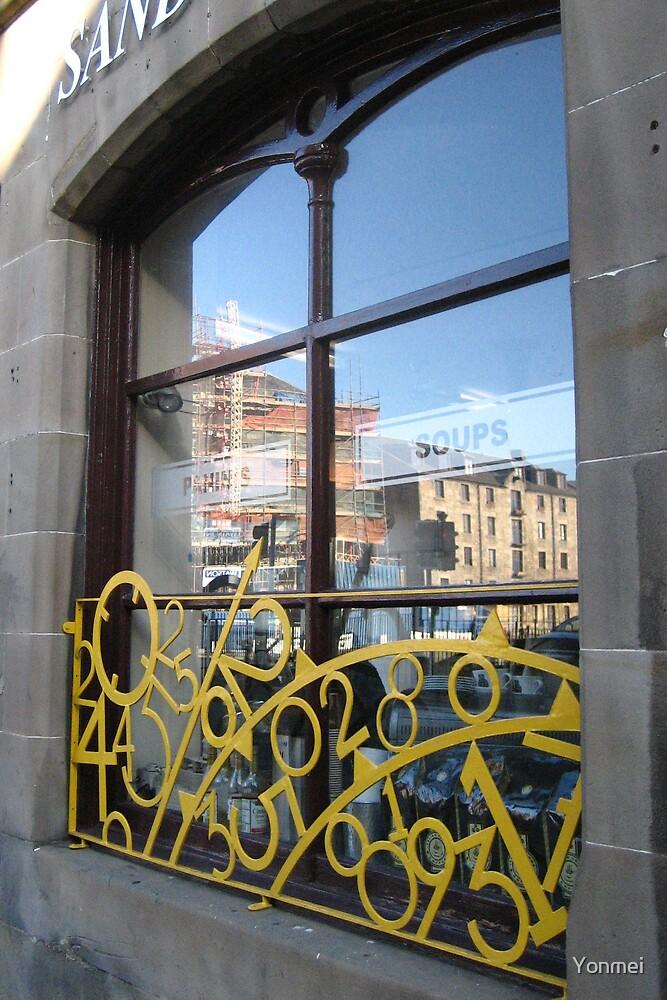 The Shore in a window by Yonmei