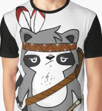 Apache The Raccoon Graphic T-Shirt