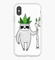 King of Sloth iPhone Case