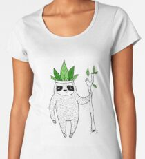 King of Sloth Women's Premium T-Shirt