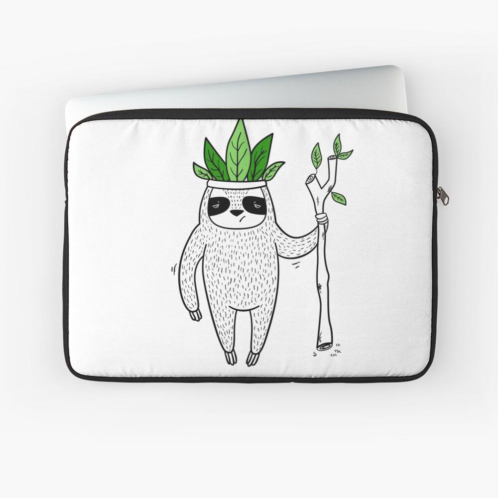 King of Sloth Laptop Sleeve
