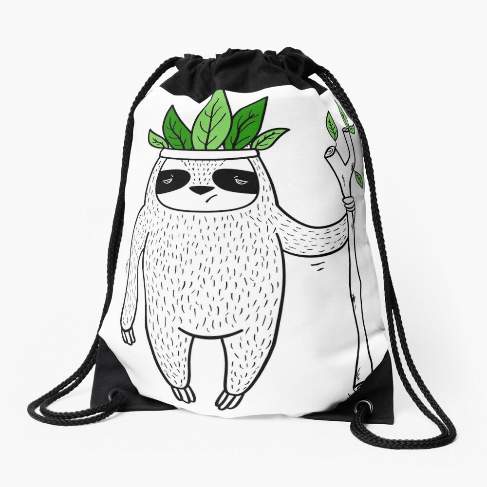 King of Sloth Drawstring Bag