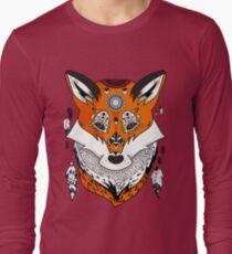 Fox Head Long Sleeve T-Shirt