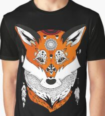Fox Head Graphic T-Shirt