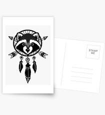Raccoon Catcher Postcards